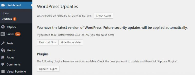 Do I have to update my WordPress website?