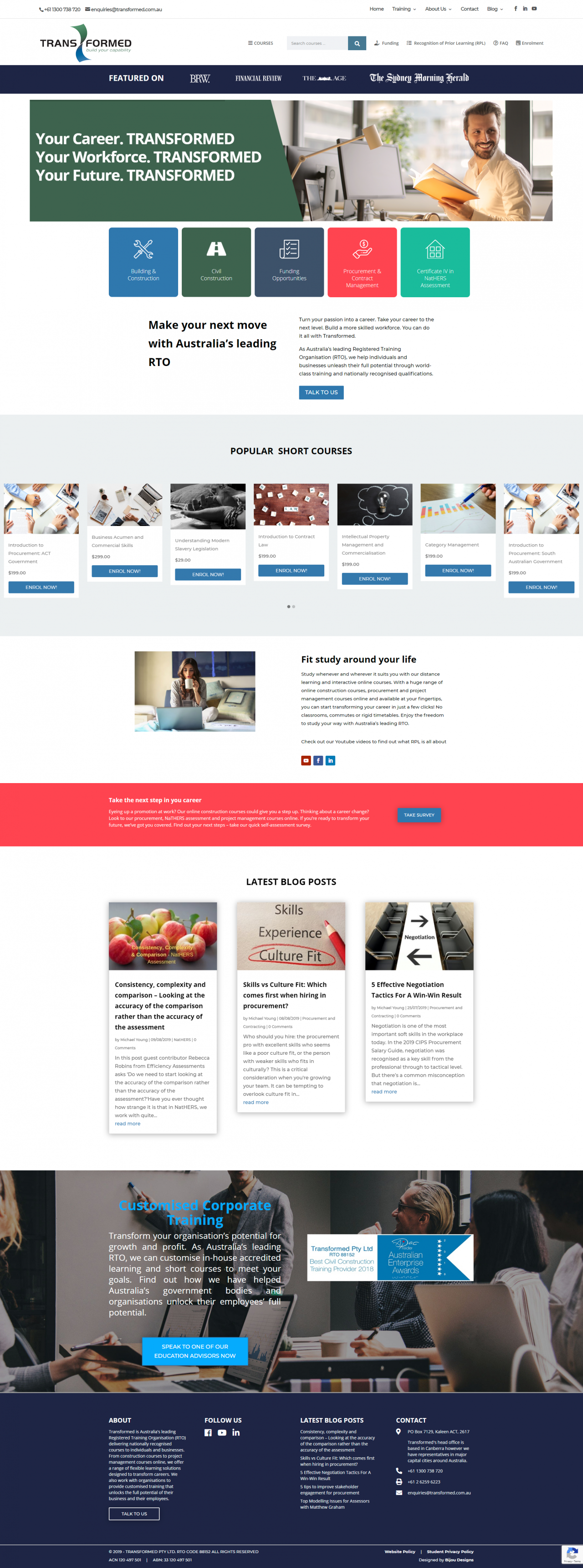 Business Catalyst to WordPress conversion